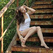 Silver Jewels Sage Stairs Picture Set 1
