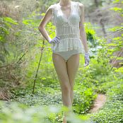 Silver Marina Forrest Lingerie Picture Set 1