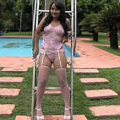 Thaliana Bermudez White Stockings TM4B HD Video 014