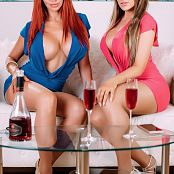 Bianca Beauchamp & Carrie LaChance Double Delicious Picture Set
