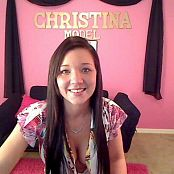 Christina Model Camshow Video 32