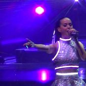 Katy Perry Live Melbourne Shiny Silver Dress HD Video