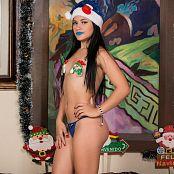 Kim Martinez Ready For Christmas TCG Picture Set 001