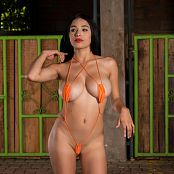 Pamela Martinez Orange Slingshot TM4B Picture Set 015