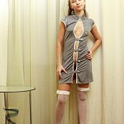 Silver Jewels Alice Grey Dress Picture Set 2