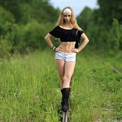 Silver Jewels Alice White Shorts Picture Set 11