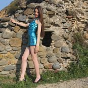 Silver Moon Nastya Blue Dress Picture Set 1