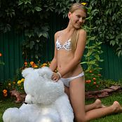 Silver Starlets Katrin White Bear Picture Set 1