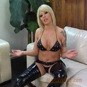 Brooke Haven Leather & Latex Dominatrix Video