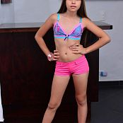 Silver Dreams Sol Pink Shorts Picture Set 1