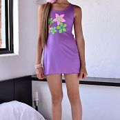 Silver Dreams Sol Purple Dress Picture Set 1