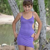 Silver Starlets Ariana Purple Dress Picture Set 1