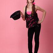 Silver Starlets Eva Black Leggings Picture Set 1