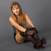 Silver Starlets Khloe Stockings Picture Set 1