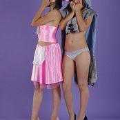 Silver Starlets Nika & Kira Cosplay Picture Set 1