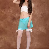 Silver Starlets Tammy White Stockings Picture Set 1