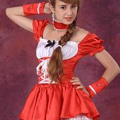Silver Starlets Yulia Red Dress Picture Set 1