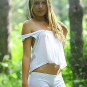 Silver Stars Mika White Shorts Picture Set 1