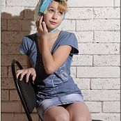TeenModelingTV Madison Denim Skirt Picture Set