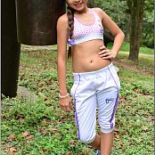TeenModelingTV Sol Athletic Pants Picture Set