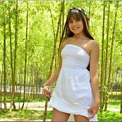 TeenModelingTV Sol White Dress Picture Set