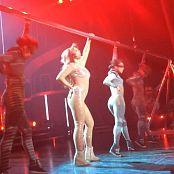 Britney Spears 3 Live Glittering Catsuit Las Vegas HD Video