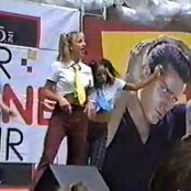 Britney Spears Thinkin Of You Live Hair Zone Tour 1997 Video