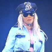 Britney Spears Womanizer Sexy Cop Outfit Circus Tour HD Video