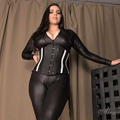 Goddess Alexandra Snow Cruel Catsuit Tease HD Video
