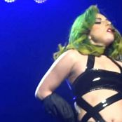 Lady Gaga Wild Live Show In Black Latex HD Video