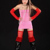 Silver Moon Emily Pink Dress Picture Set 1
