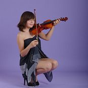 Silver Starlets Nika Violin Picture Set 1