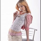 TeenModelingTV Ella Peace Skirt Picture Set