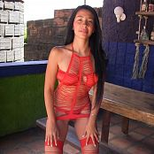 Yeraldin Gonzales Red Bikini TM4B HD Video 004
