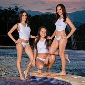 Britney Mazo Mellany Mazo and Alexa Lopera Group 2 TBS Picture Set 002