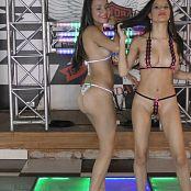 Britney Mazo & Mellany Mazo Tiny Micro Bikinis Group 1 TBS HD Video 001