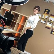 Katie Banks Hot For Secretary BTS HD Video