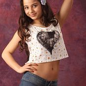 Silver Stars Sabina Denim Shorts Picture Set 1