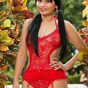 Thaliana Bermudez Red Lingerie TM4B Picture Set 011