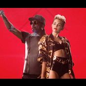 Miley Cyrus Hot In Black Shiny Latex HD Video