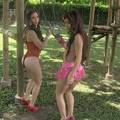 Angie Narango & Mary Mendez Dance Together In The Playground Group 3 TCG HD Video 003