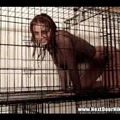 Nextdoornikki Wet Caged and Slutty Fishnets Video