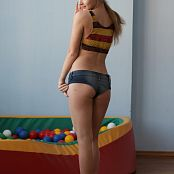 Silver Jewels Alice Demin Shorts Picture Set 9