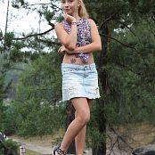 Silver Jewels Alice Denim Skirt Picture Set 1