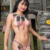 Thaliana Bermudez Body Paint Beauty TM4B Picture Set 014
