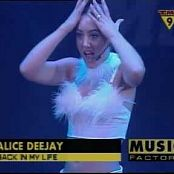 Alice Deejay Back In My Life Live Pepsi Pop 1999 Video
