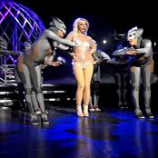 Britney Spears Glittering Catsuit Work Bitch 2015 HD Video