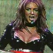 Britney Spears Overprotected Live In Black Latex Catsuit 2003 Video
