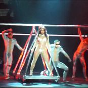 Britney Spears 3 Live In Glittering Catsuit HD Video