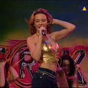 Kylie Minogue Spinning Around Live Interaktiv Golden Latex Top Video